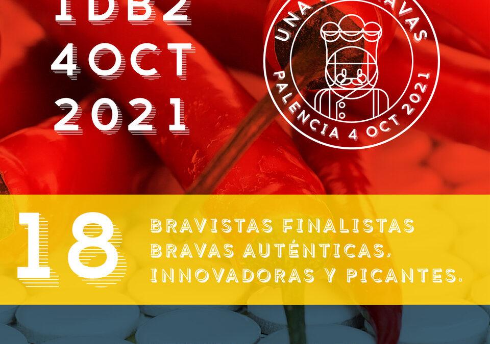 18 cocineros participarán en la gran final del concurso Una De Bravas